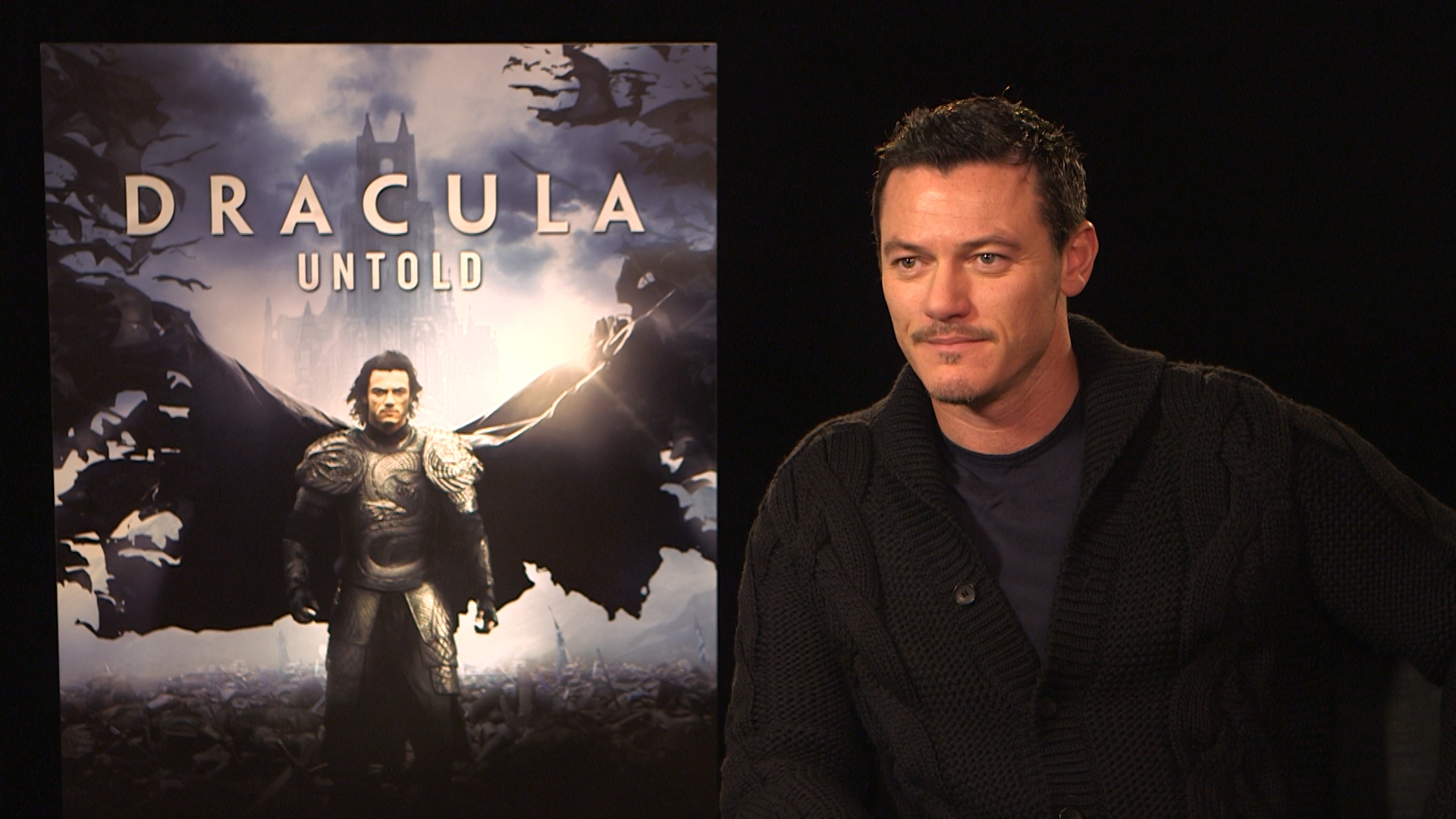 Interview With the 'Dracula Untold' Vampire: Luke Evans ...
