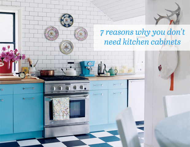 Why You Don T Need Kitchen Cabinets Huffpost Life