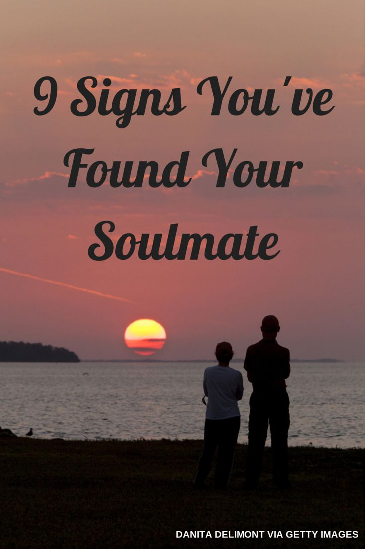 Soulmate meeting signs