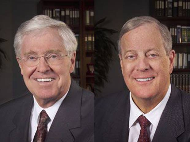 My brothers charles and david koch huffpost for David charles koch
