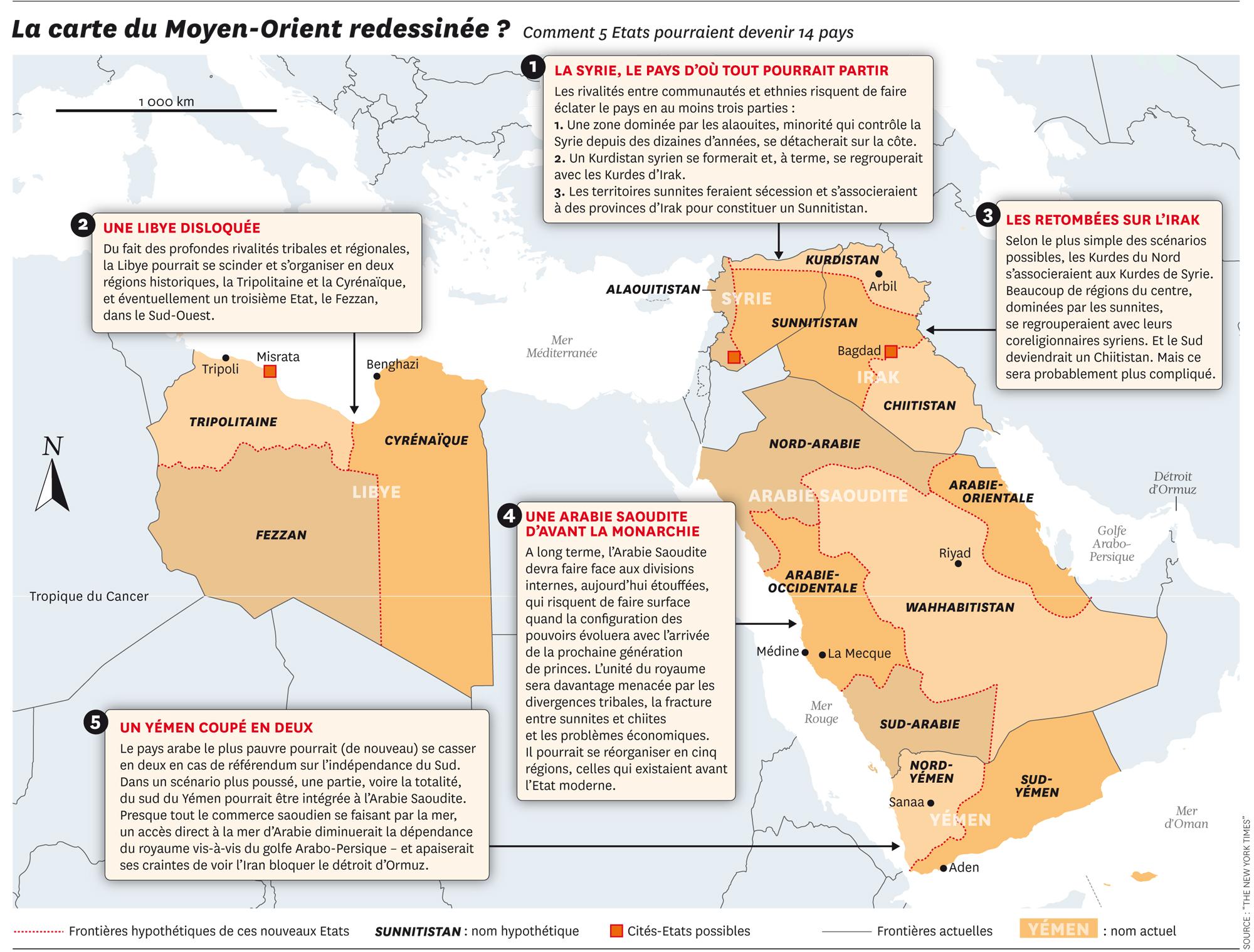 Nouvelle Carte Moyen Orient