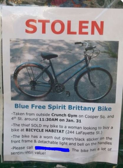 Lost and Found: The Story of How I Recovered my Stolen Bike