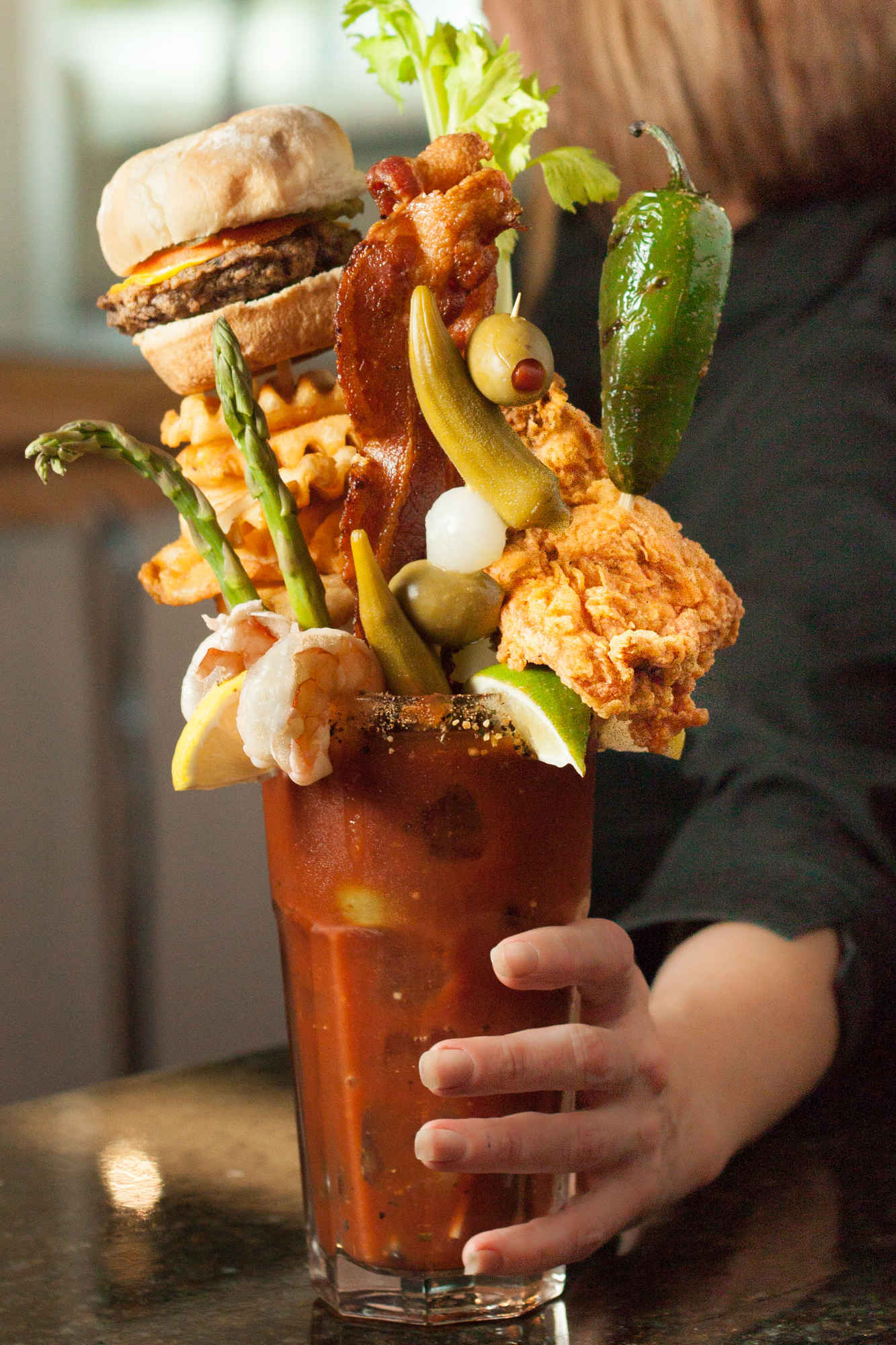The 12 Craziest & Best Bloody Marys in America