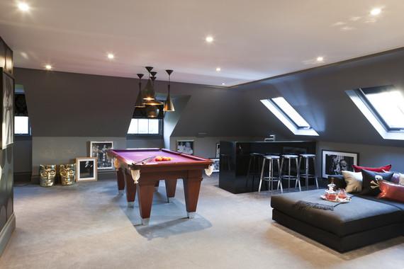 Wohnzimmer modern eingerichtet