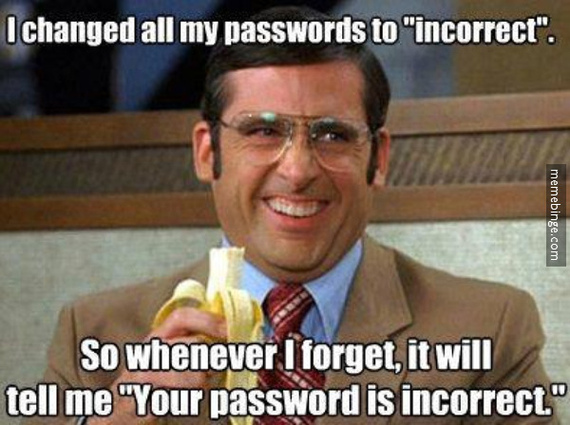 Forgot Your Password Click Here Huffpost