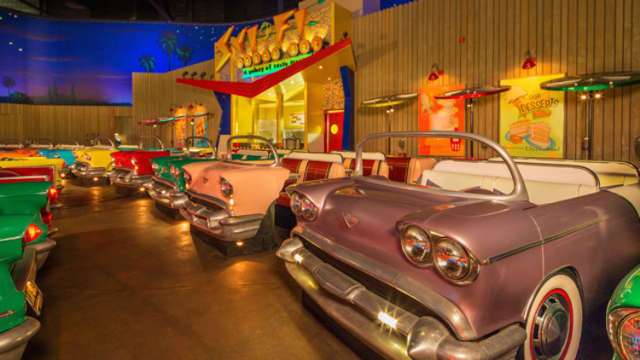 No Cars Are Allowed At America S Craziest Retro Drive In Movie Theater Huffpost Life