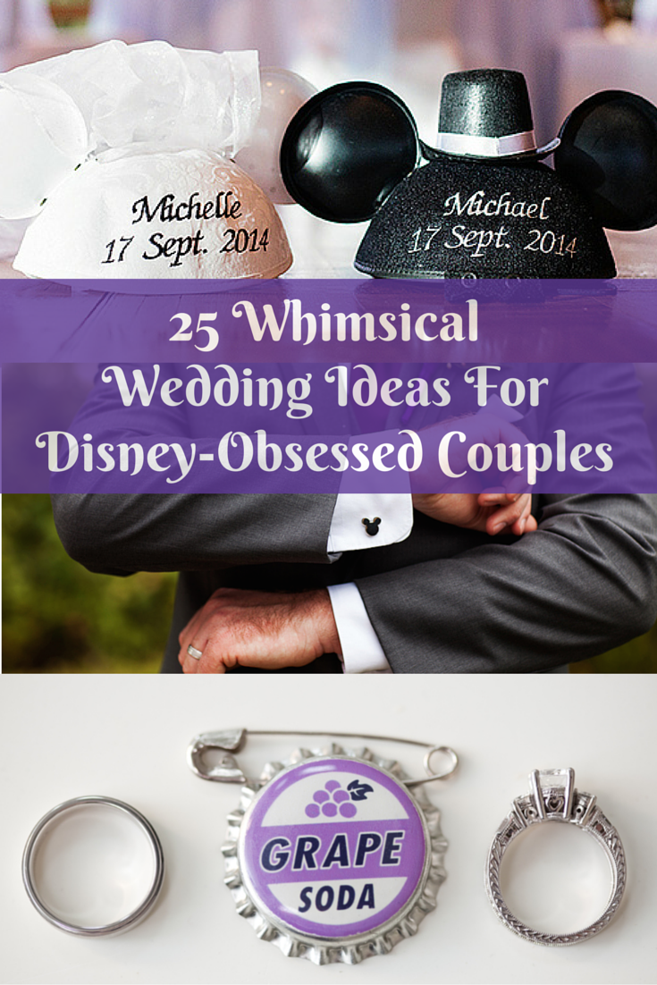 25 Whimsical Wedding Ideas For Disney Obsessed Couples Huffpost Life