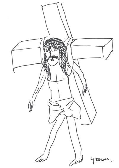 東京マラソン2015、キリスト ...