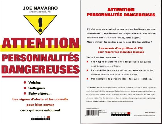 Joe Narravo - Attention Personnalités Dangereuses
