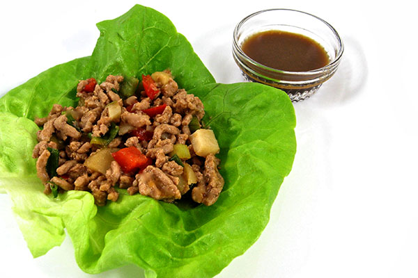 Low-Carb Chicken Lettuce Wraps | Nancy Fox