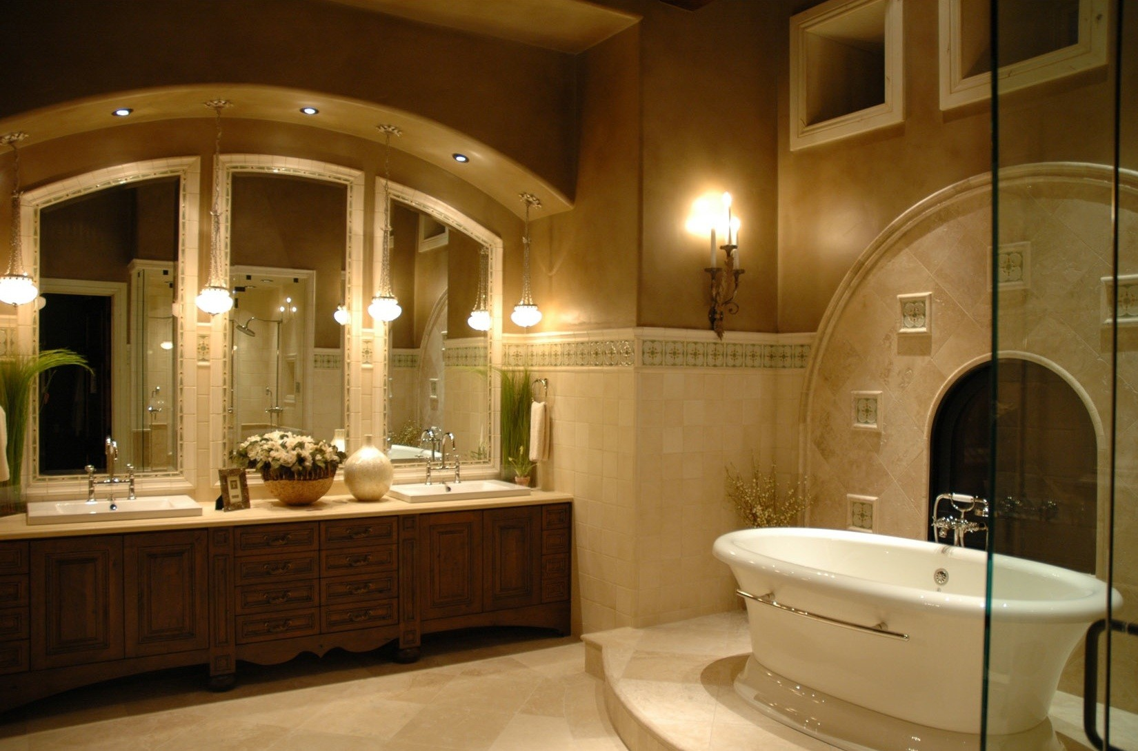 6 bathtubs to melt away the winter coldness huffpost - Small bathroom designs with tub ...