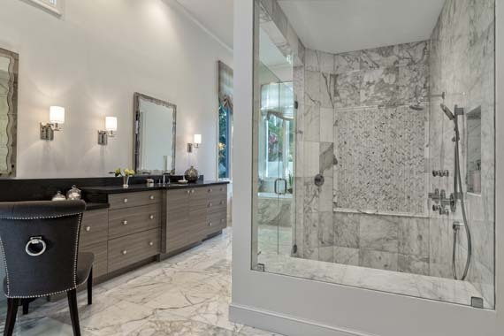 Marble Bathroom Ideas Amazing 9 Stunning Marble Bathroom Design Ideas  Huffpost Inspiration Design