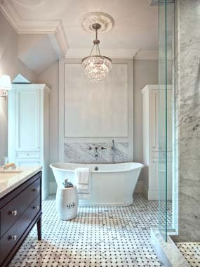 Bathroom Ideas Marble 9 stunning marble bathroom design ideas | huffpost