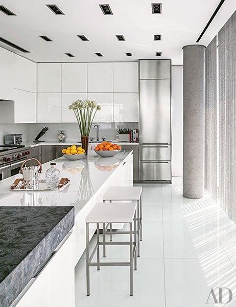 19 Stylishly Sleek Contemporary Kitchens Huffpost Life