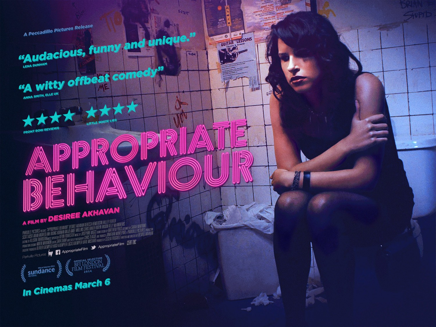 Film reviews appropriate behaviour and still alice for Farcical behavior