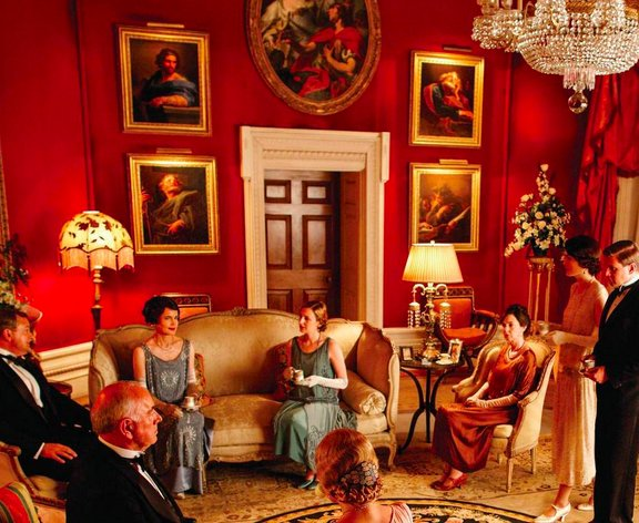 The cure for 39 downton abbey 39 blues huffpost for Gay bedroom ideas