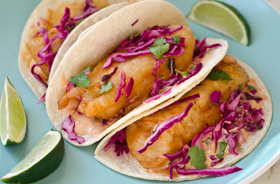 5 fun foods you can eat with your fingers huffpost for Fish taco batter