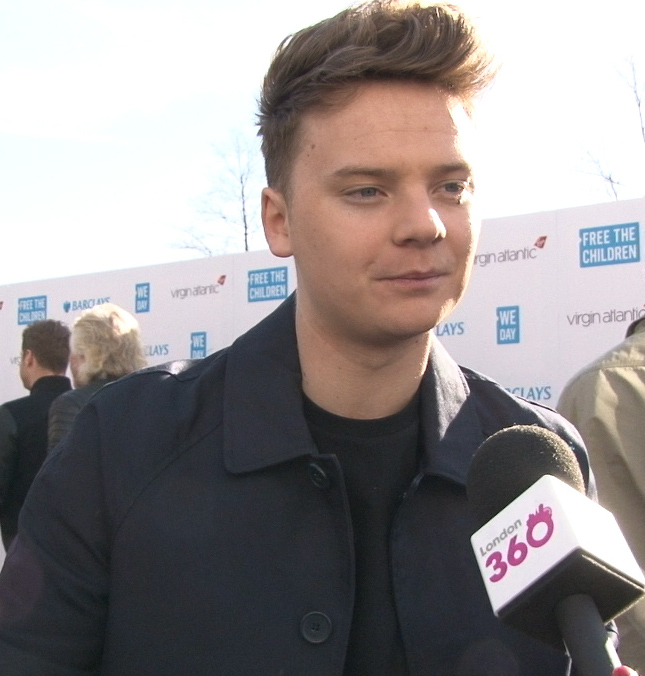 Chart star Connor Maynard on the We Day UK red carpet. - 2015-03-05-1425580306-6930175-ConorMaynard