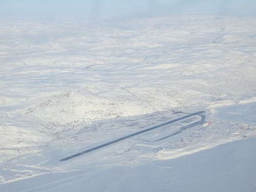 Around Greenland's Coldest Settlement in the Depths of