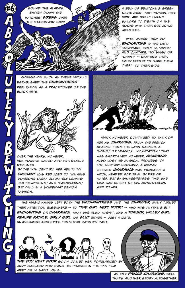 Word Orgin Comics Leading A Charmed Life And A More Enchanting