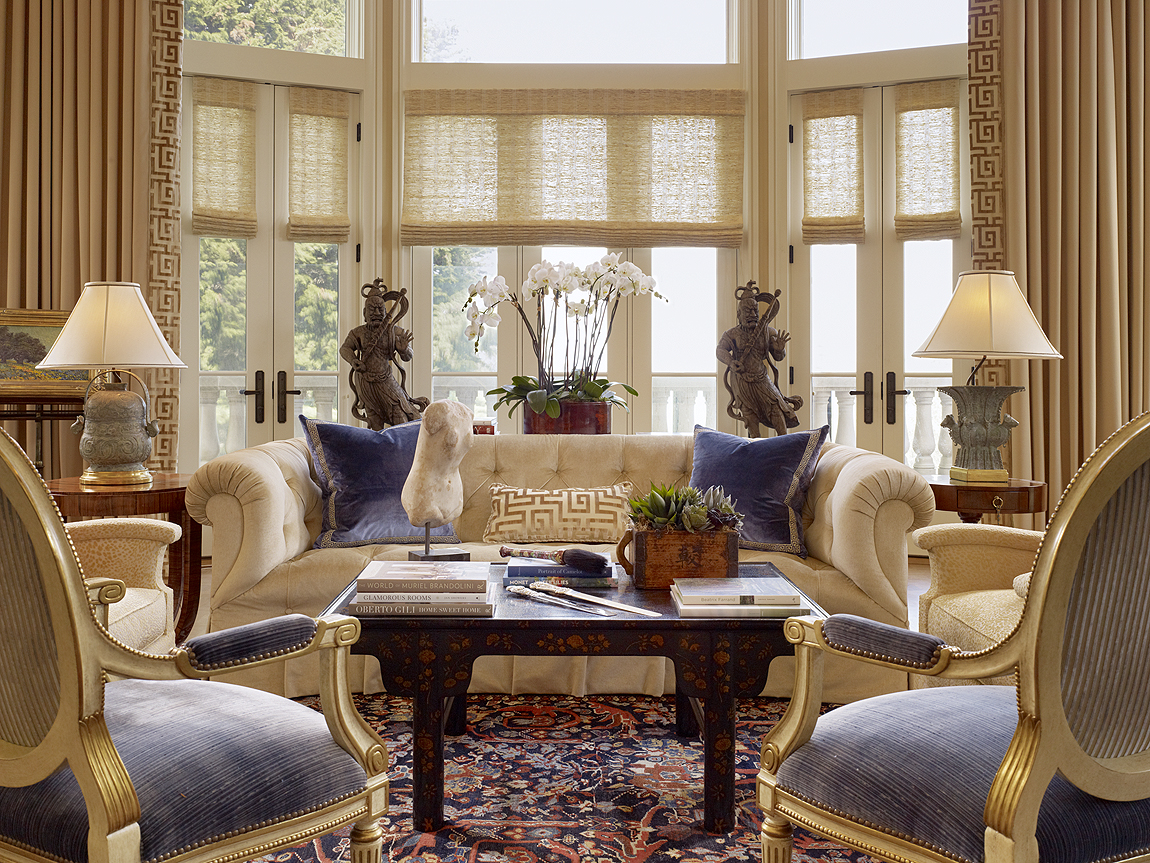Traditional Interior Design By Ownby: 5 Living Rooms That Prove The Power Of Symmetry