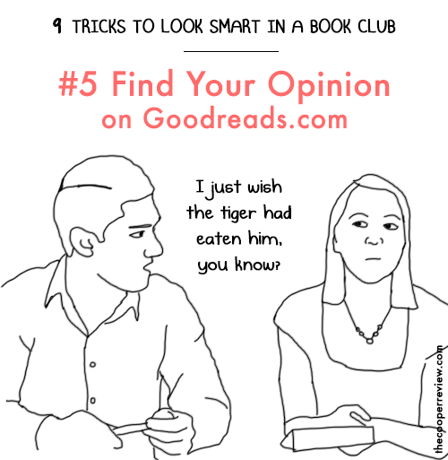 9 Tricks to Look Smart in a Book Club