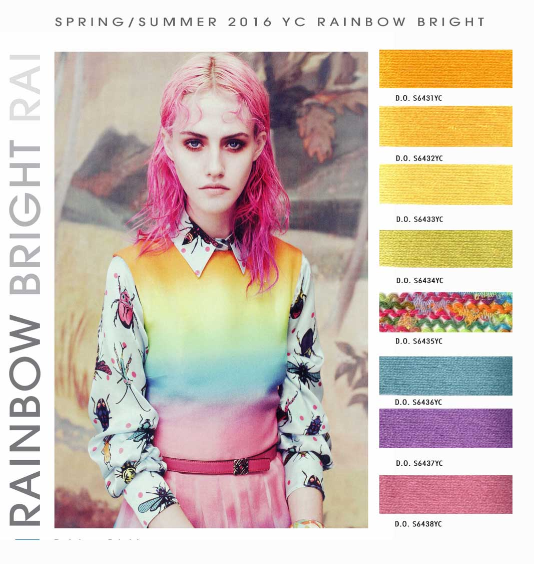 Trend Alert! From Rainbow Brite To Rainbow Brides, Life Is