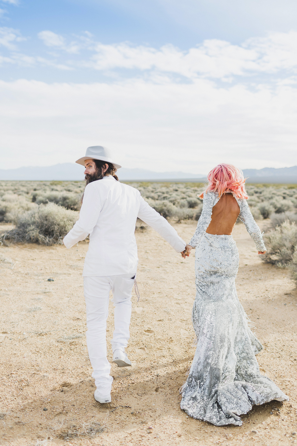 This Badass Couple's Vegas Elopement Is The Epitome Of