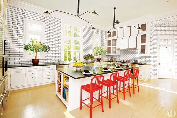 Welcome Spring With These 10 Colorful Kitchen Accents