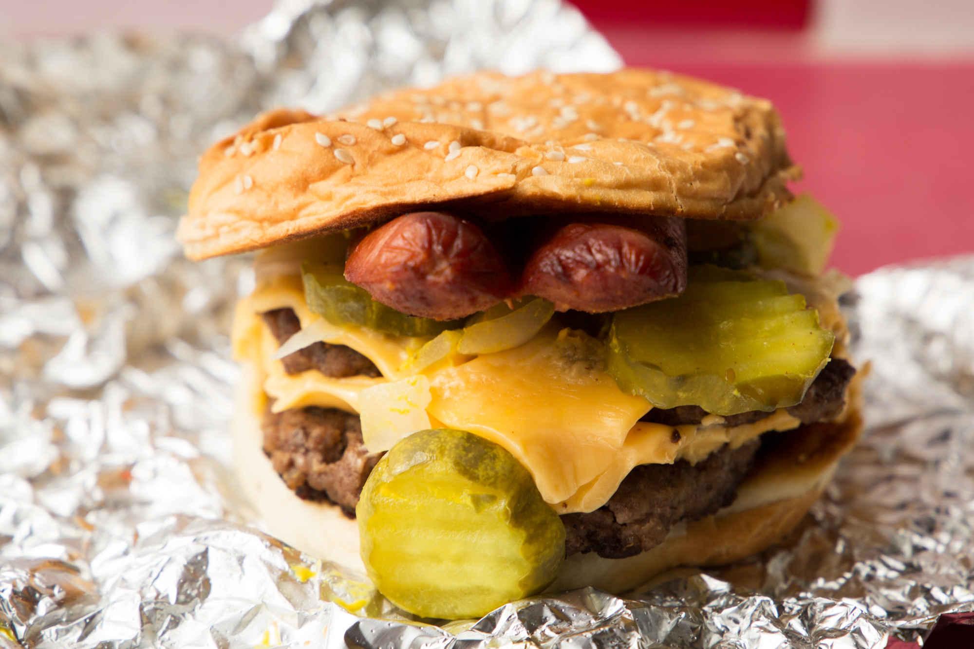 Best Five Guys Hot Dog Combo