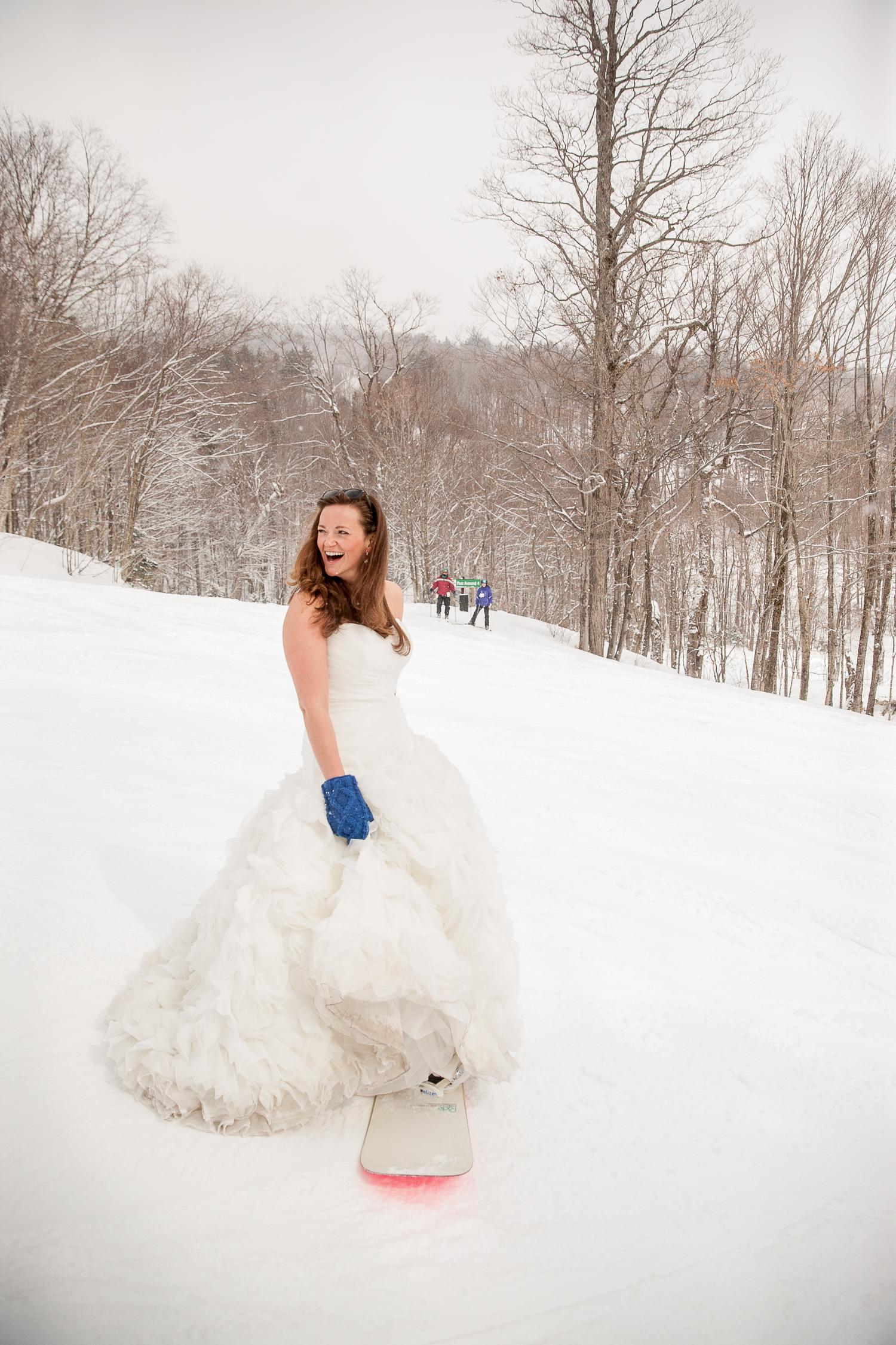 Bromley mountain wedding