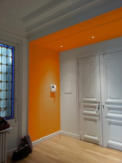 Comment cr er une s paration entre l 39 entr e et le salon - Rideau separation couloir ...