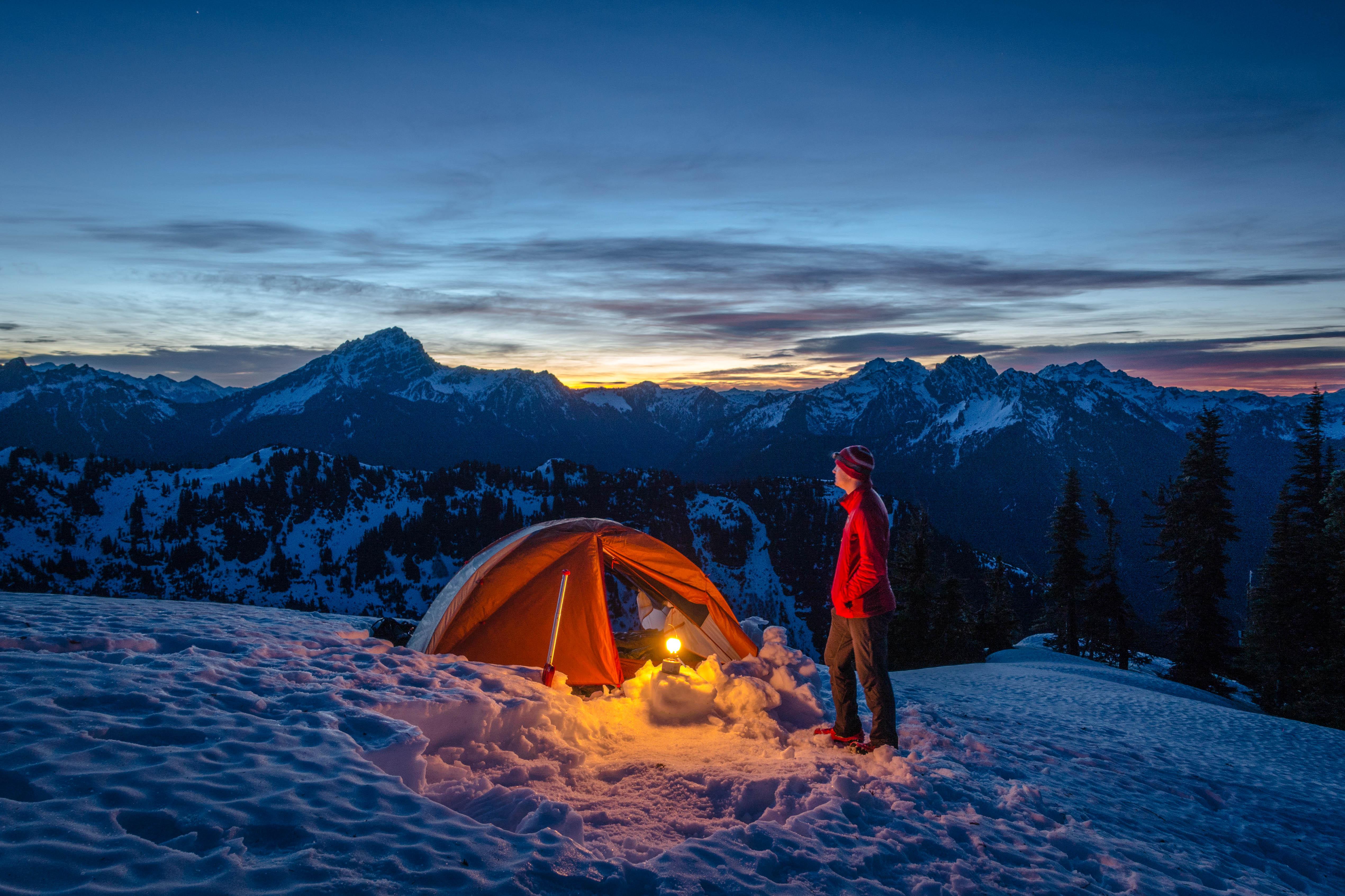 Breathtaking Winter Camping in Washington | HuffPost