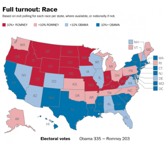 The Most Stunningly Detailed Election Map Was Just Released - 2015 us election map