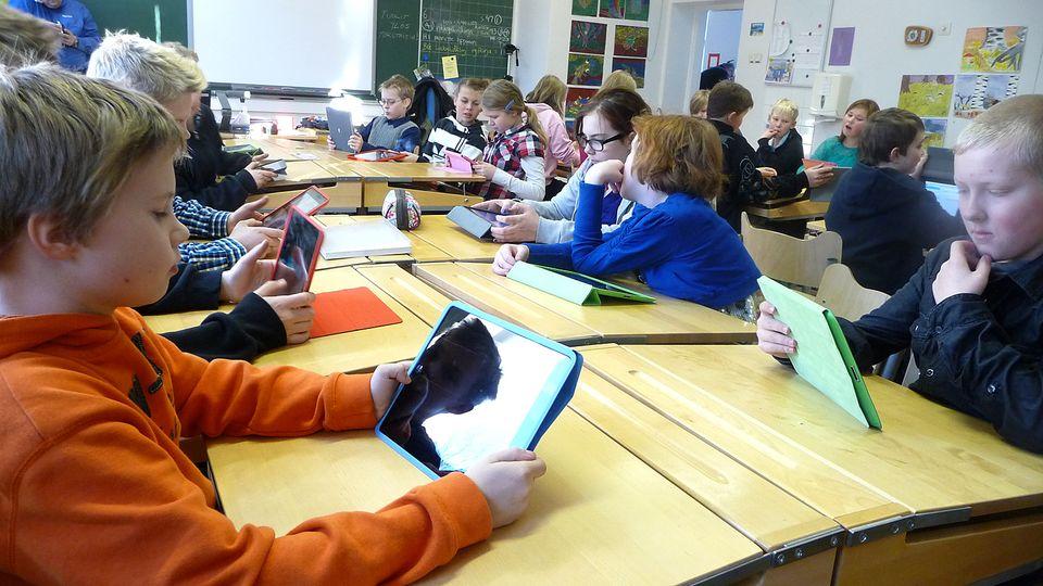 Classroom dynamic in Finland