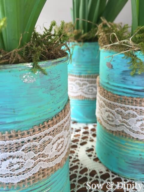 8 easter decorating upcycles that will save you a trip to for Aluminum can decorations