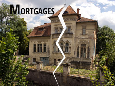 Mortgages... Home loans can be especially complicated to untangle, but if you are still liable for the house after the divorce, your credit score and credit history are still vulnerable.