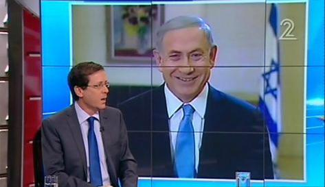 Netanyahu-Herzog mini-debate, Channel 2, March 14, 2015