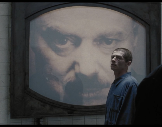 Nineteen Eighty-Four (1984), Directed by Michael Radford; based on a novel by George Orwell