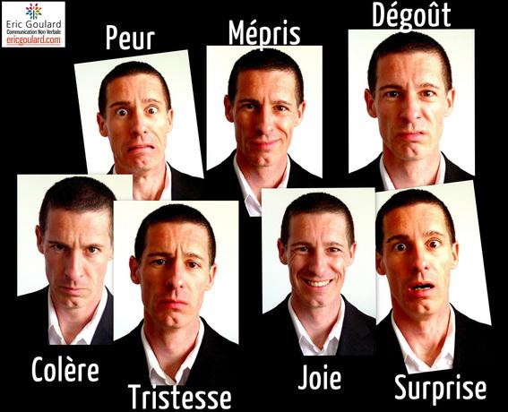 Les 7 émotions primaires universelles