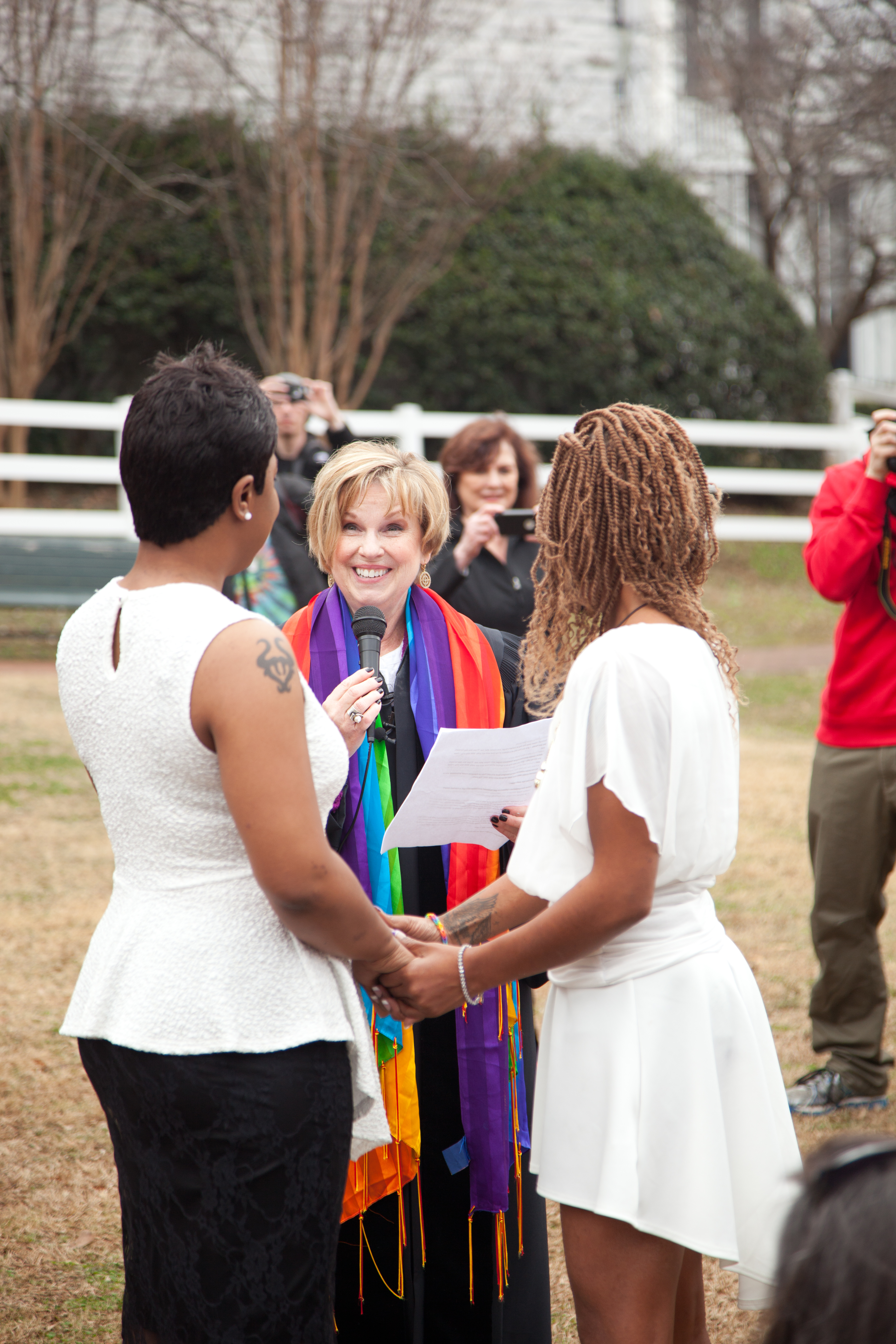 Reflecting On Becoming The First Southern Baptist Minister To Marry A  Samesex Couple