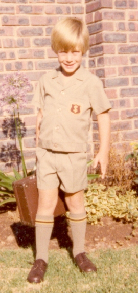 Martin Pistorius ready for school
