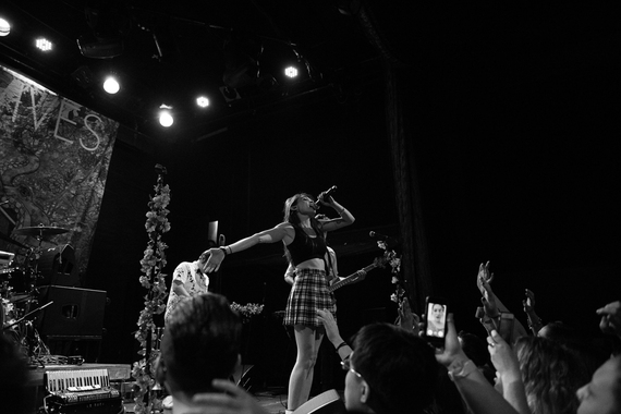 MisterWives at Bowery Ballroom. Concert Photography by DeShaun Craddock
