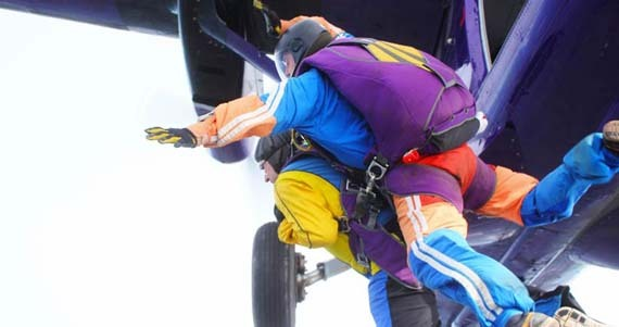 Making the leap - jumping from the plane
