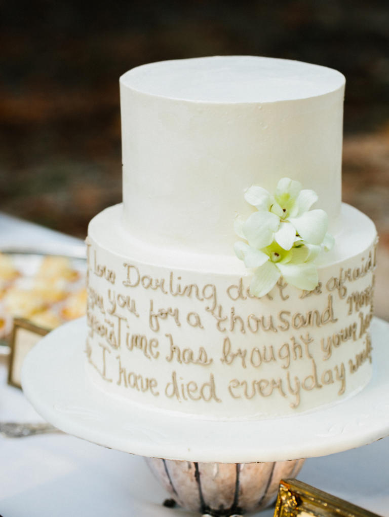 Unconventional Wedding Cakes