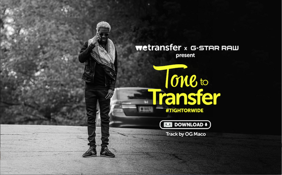 Hear Me Out: WeTransfer & G-Star Team Up For 'Tone to