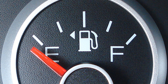 Car Fuel Gauge Shows Empty When Full