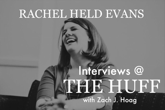 Rachel held evans view on homosexuality in christianity