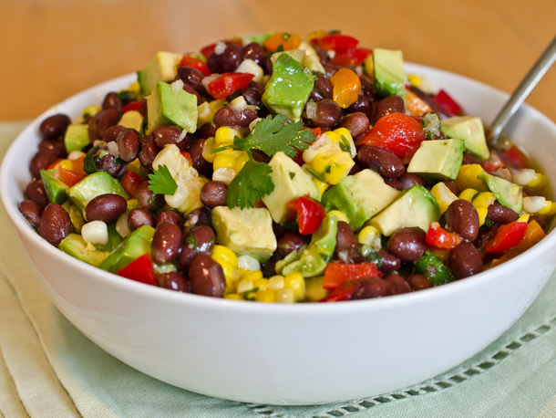 ... It's delicious as a salad or scooped on tortilla chips. GET THE RECIPE