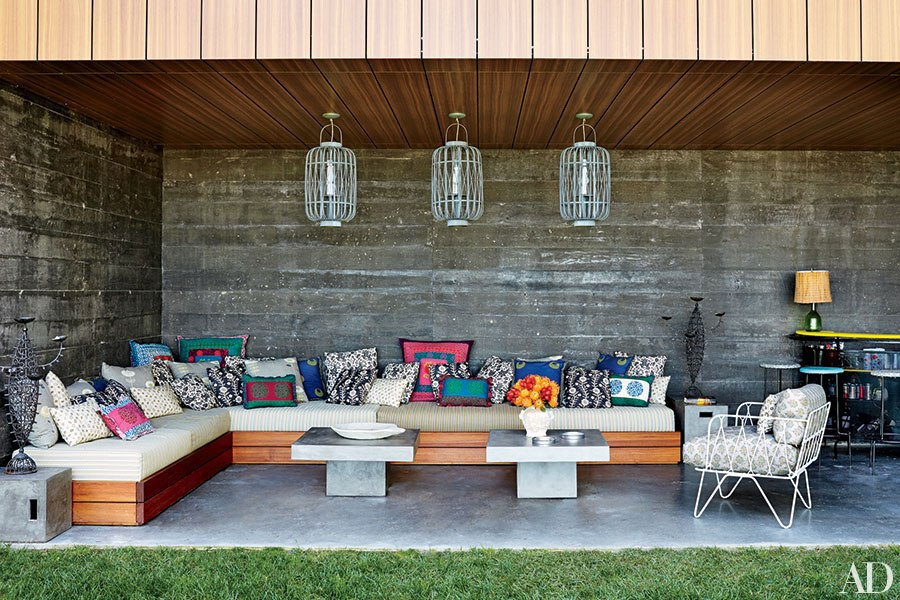the most creative ways to set up outdoor seating this